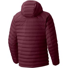 """Mountain Hardwear M´s StretchDown Hooded Jacket Cote du Rhone"""